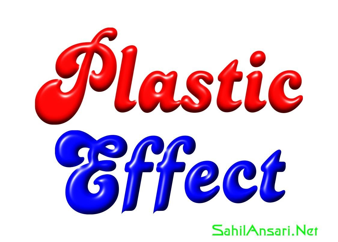 How to make plastic effect on text with CorelDraw | Desktop Publishing Tips